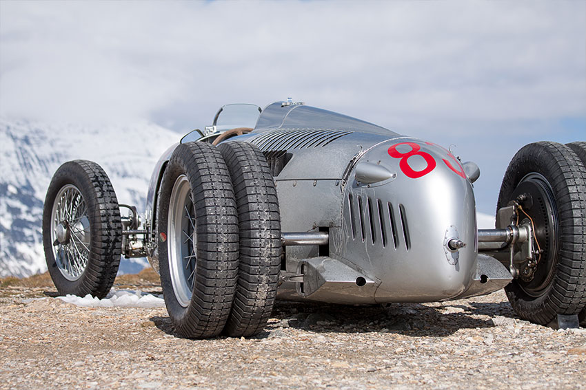 Auto Union Typ C Grossglockner Cannoneer
